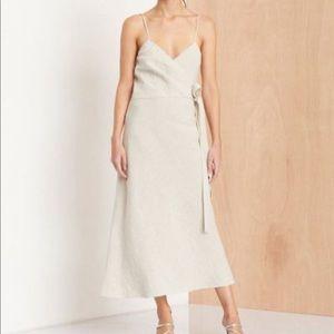 Bec + Bridge linen wrap dress